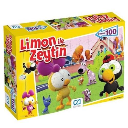 Ca 5084 Limon İle Zeytin Puzzle 100