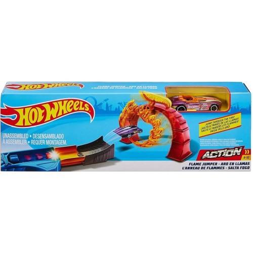 Hot Wheels Akrobasi Yarış Seti Ateş Halkası