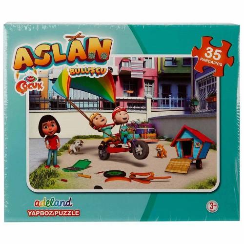 Kutulu Puzzle Aslan 35 Li