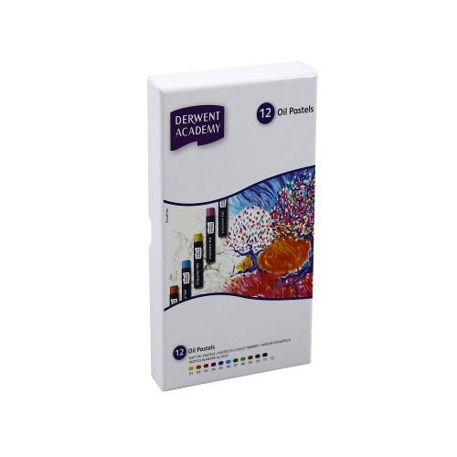 Derwent 2301952Academy Pastel 12 Renk
