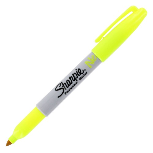 Sharpie 1881076 Fine Permanet Markör Sarı Neon