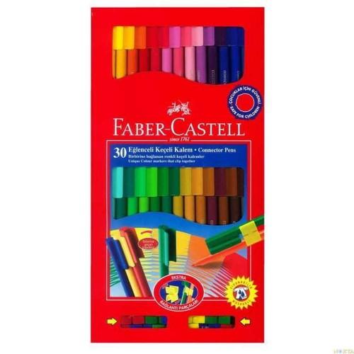 Faber Castell Eğlenceli Keçeli 30 Renk