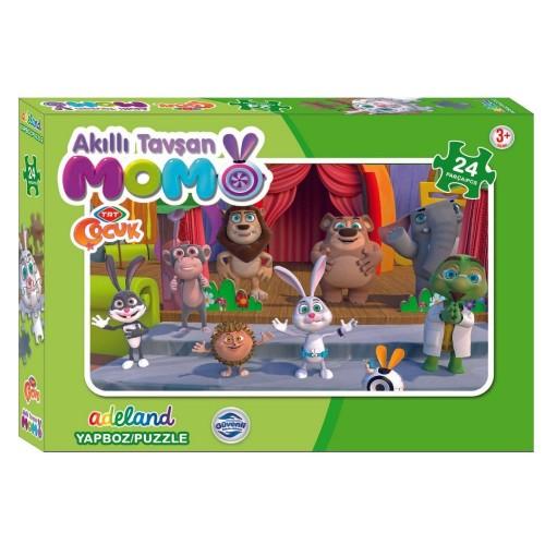 Kutulu Puzzle Tavşan Momo 24 Lü