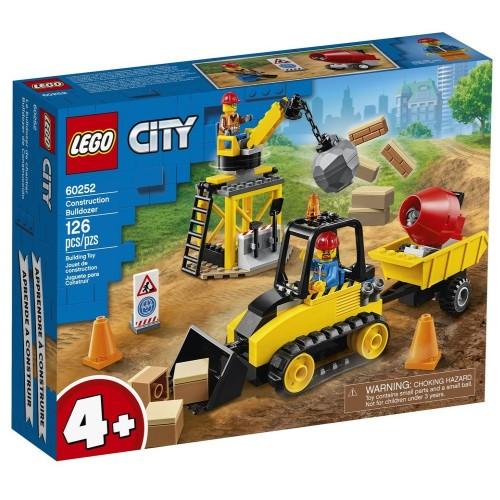 Adore Lego Lsc60252 Construction Buldozer