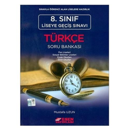 Esen 8.Sınıf Türkçe Soru Bankası