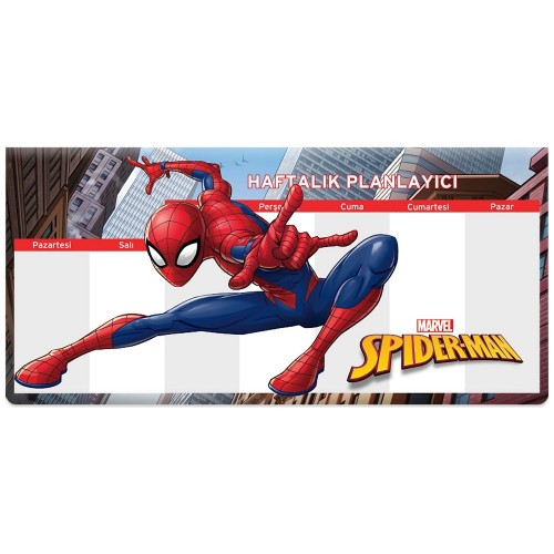 Keskin Color Spiderman 12*26 Haftalık Planner Blok