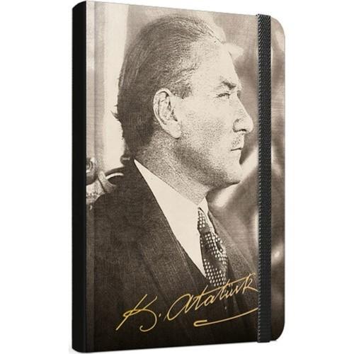 Gıpta Atatürk Dikişli Sert Kap.Def.A/6 120Yp.Çizgi