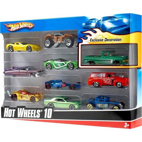 Mattel Hw 54886 10Lu Arabalar Setı-6