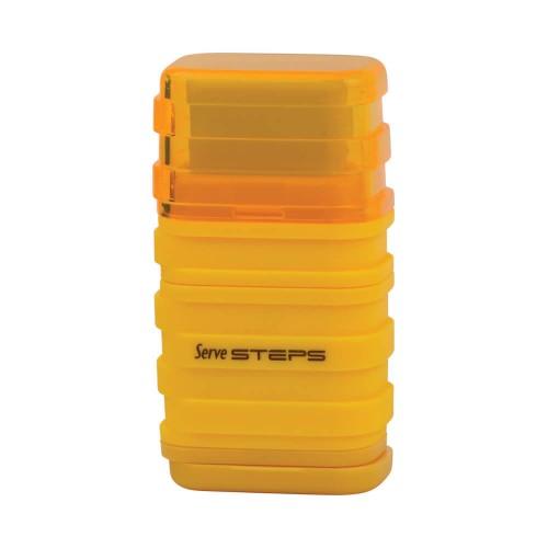 Serve Steps Kalemtraşlı Silgi Sarı