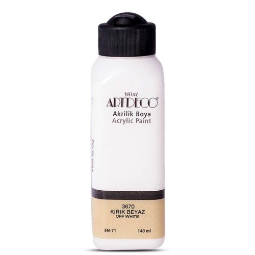 Artdeco Y-070R-3670 Akrilik Boya 140 Ml K. Beyaz