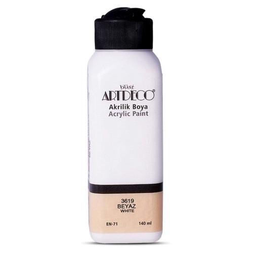 Artdeco Y-070R-3619 Akrilik Boya 140 Ml Beyaz