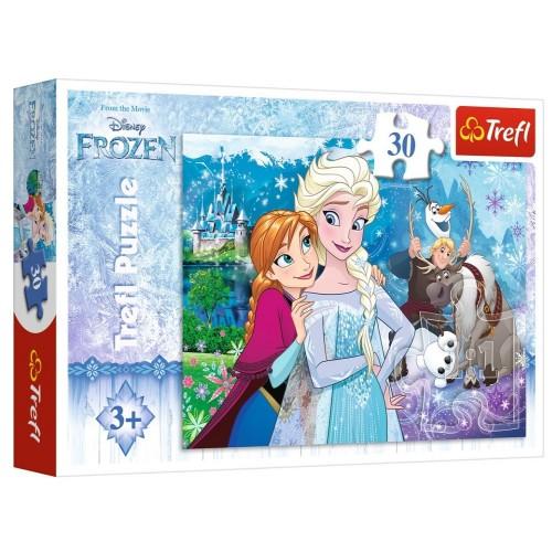 Heidi Trefl Puzzle 30 Parça Frozen
