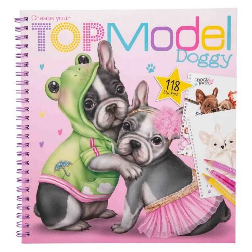 Agt 1025 Top Model Doggy Boyama Kitabı