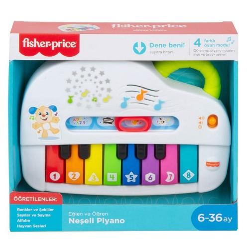 Fisher Price Gtw20 Işıklı Neşeli Piyano Türkçe