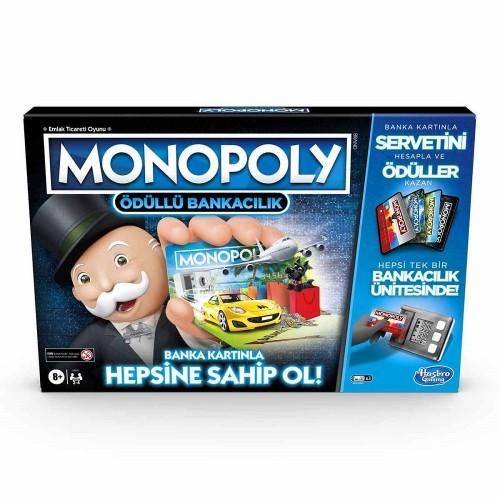 Hasbro E8978 Monopoly Ödüllü Bankacılık
