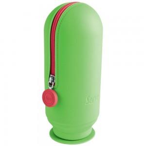 Serve Sv-Hoopfy Hoop Kalem Çantası Neon Yeşil