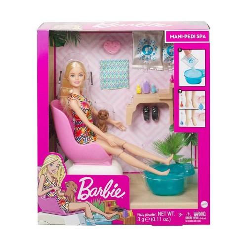 Mattel Ghn07 Barbie Sağlıklı Tırnak Bakım Set