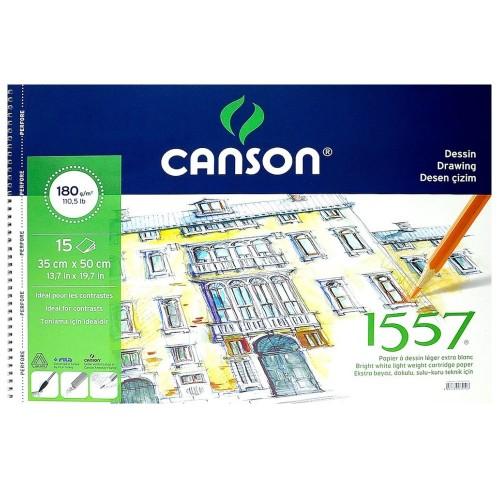Canson 180153550 Resim Blok 35*50 180Gr 15 Yaprak