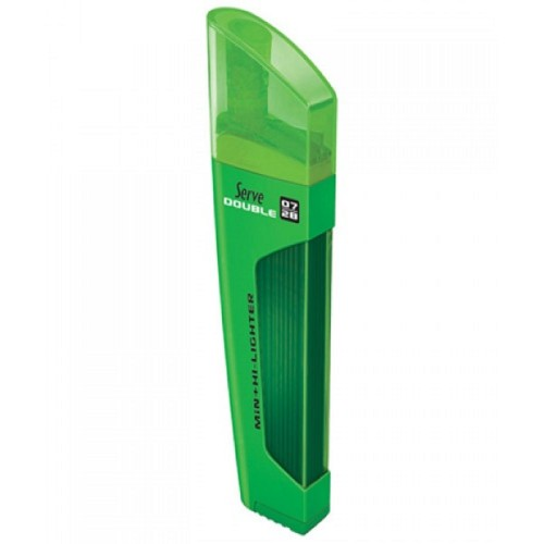 Serve Double Min+Fosforlu 0,7 Yeşil