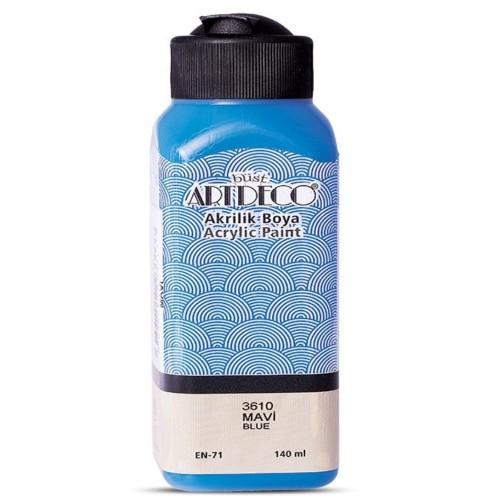 Artdeco Y-070R-3610 Akrilik Boya 140 Ml Mavi