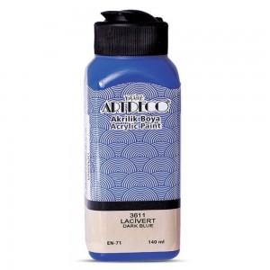 Artdeco Y-070R-3611 Akrilik Boya 140 Ml Lacivert