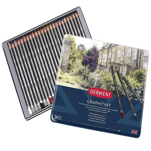 Derwent 700803 Graphıtınt 24 Renk B.Kalemi