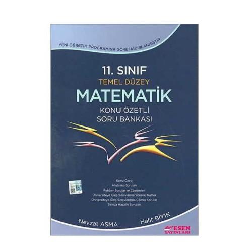 Esen 11.Sınıf Temel Düzey Matematik Soru Bankası
