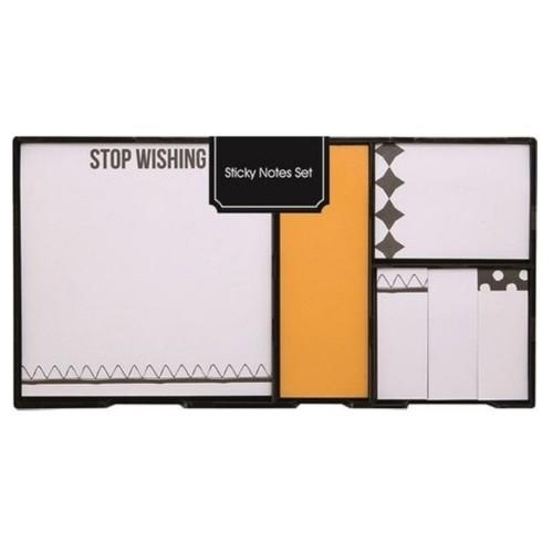 Syloon Yapışkanlı Not Kağıdı Seti Sarı Sa060355C