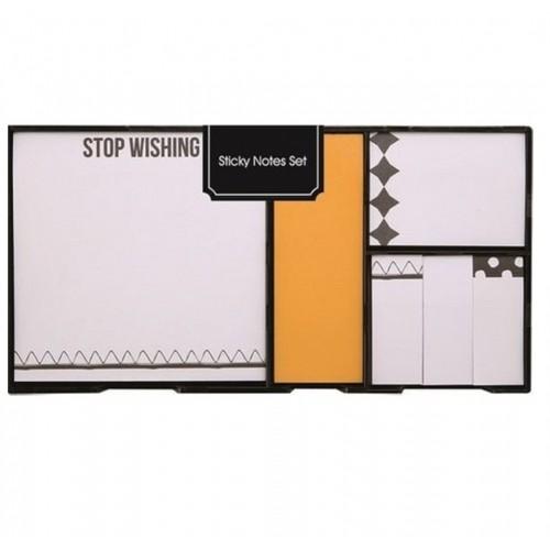 Syloon Sa060355C Yapışkanlı Not Kağıdı Seti Sarı