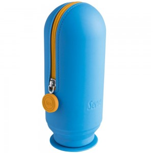 Serve Sv-Hoopfm Hoop Kalem Çantası Neon Mavi