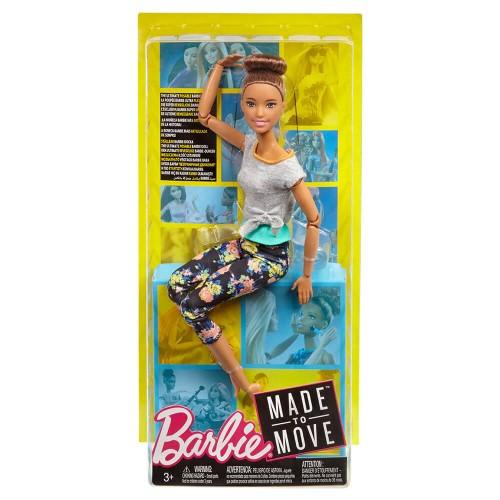 Mattel Ftg82 Barbie Sonsuz Hareket Kumral