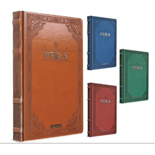 Gıpta Pera Dikişli Deri Deft.17X24-160 Yp.Çizgisiz