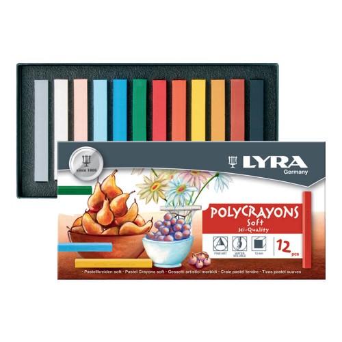 Lyra 5651120 Pastel Boya 12 Renk