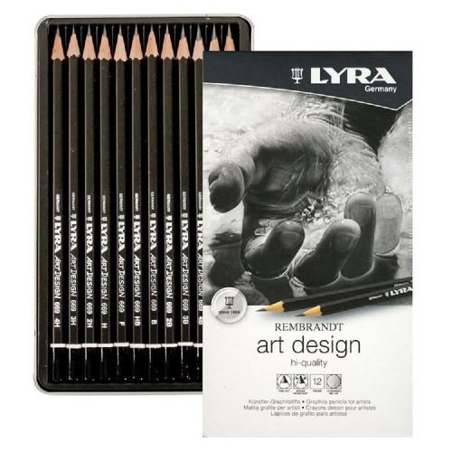Lyra 1111120 Rembrandt Artdesign 12 Renk Dereceli