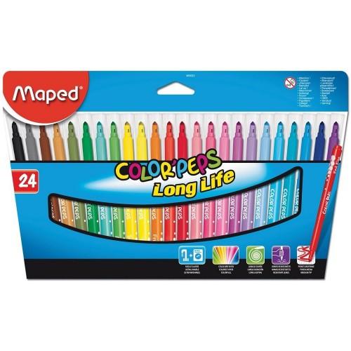 Maped 845022 Color Keçeli Kalem 24 Lü