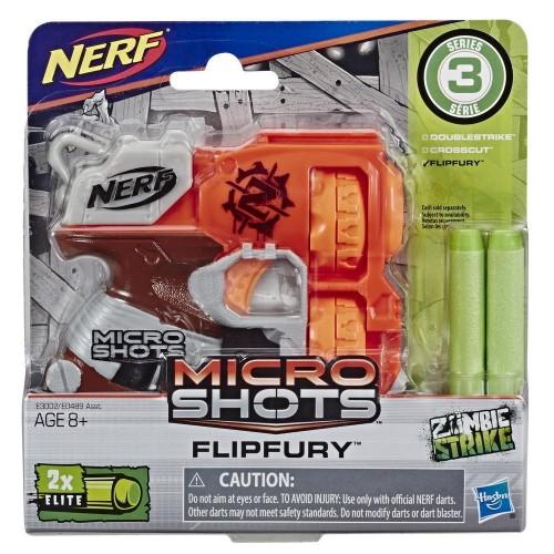 Hasbro E0489 Nerf Mıcroshots Flıpfury