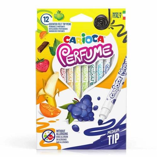 Carioca 42672 Kokulu Keçeli Kalem 12 Li