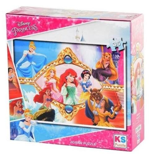 Onur 35 Parça Puzzle Lisanslı Princess