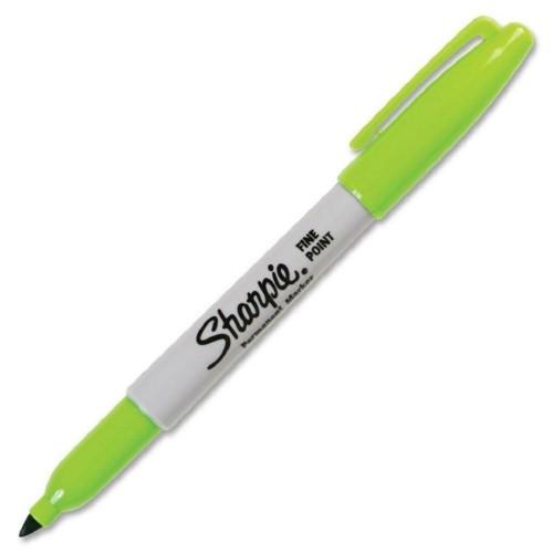 Sharpie 1740641 Fine Perm. Markör Limon Yeşil