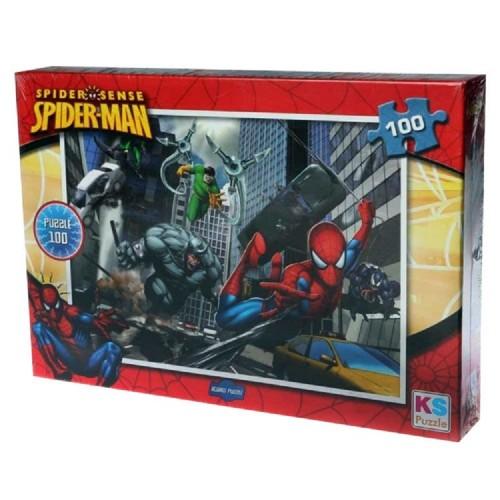 Onur Sp714 Spiderman Puzzle 100 Parça