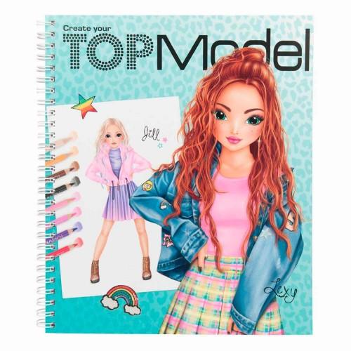 Agt 1065 Top Model Creative Boyama Kitabı