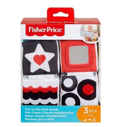 Fisher Price Gfc37 Yumuşak Eğlenceli Küpler